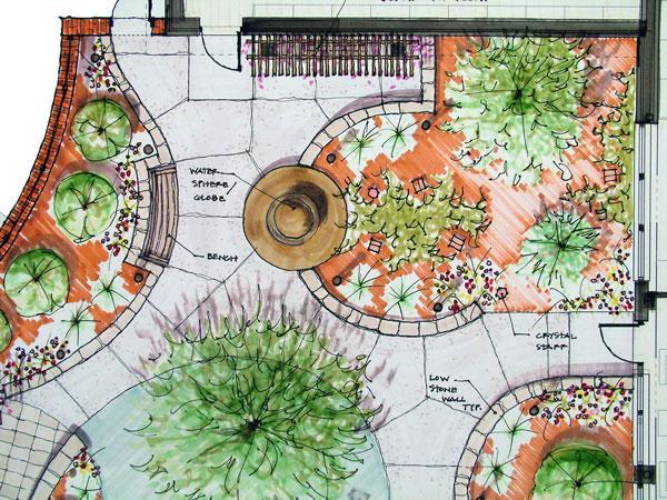Piante fiori dintorni progettazione giardini for Arredamenti terrazze e giardini