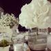 Ortensia e velo da sposa-dettagli di allestimento